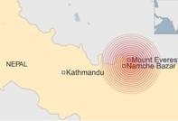 Lại xảy ra động đất cực mạnh ở Nepal