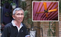 Người đàn ông sành sỏi quạt cổ nhất Sài Gòn