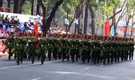 Toàn cảnh Lễ diễu binh chào mừng 40 năm Thống nhất đất nước