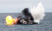 Tổng thống Indonesia lại ra lệnh đánh chìm tàu cá