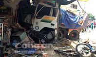 Tài xế lái xe tải tông vào nhà dân bị cấm đi khỏi nơi cư trú