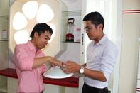 Ra mắt đèn LED cảm ứng 'made in Vietnam'