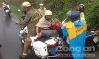 Đội CSGT Cát Lái liên tiếp cứu người bị tai nạn