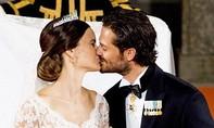 Bộ ảnh cưới đẹp như mơ của hoàng tử Thụy Điển