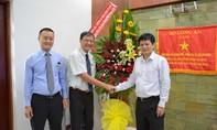 Trường Đại học Ngân hàng TP.HCM đến thăm Báo CATP