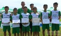 Học viện bóng đá NutiFood tuyển 38 thí sinh tại TPHCM
