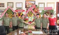 Đảng ủy - Ban Giám đốc Công an TPHCM đến thăm và chúc mừng báo CATP