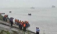 Chìm tàu chở 458 người trên sông Dương Tử