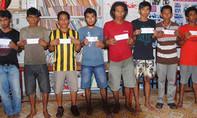 Clip truy tìm toán cướp biển cướp tàu dầu Malaysia