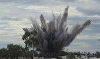 Người đàn ông nát vụn thi thể sau tiếng bom nổ kinh hoàng