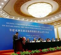 Úc gia nhập AIIB