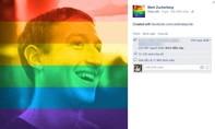 """Facebook hỗ trợ """"ảnh cầu vồng"""" ủng hộ cho phép hôn nhân đồng giới"""