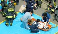 Tự thiêu trên tàu cao tốc, 2 người chết