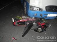Ô tô húc 2 xe máy làm 4 người thương vong