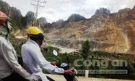 Khoan lỗ nổ mìn, một công nhân tử vong tại mỏ đá