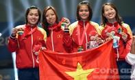 Giành 8 HCV, đoàn thể thao Việt Nam tiếp tục xếp thứ 2