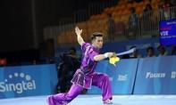 Wushu giành vàng, Việt Nam giành lại vị trí thứ 2