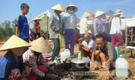 Dân dựng lều, ăn ngủ giữa đường phản đối xây dựng bãi rác