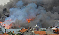 Cháy nhà máy mỹ phẩm  làm ít nhất 5 người chết