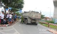 Va chạm xe tải chở đá, một phụ nữ chết thảm