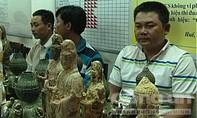 """Biến tượng đồng thành tượng Phật """"cổ"""" rồi đem bán"""