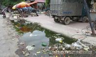 Ô nhiễm nghiêm trọng tại trung tâm thị trấn Cầu Giát