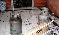 Nhập viện do nổ bình gas