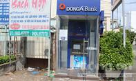 Dùng hàn gió đá cắt trụ ATM để trộm tiền