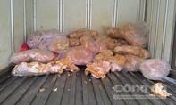 Gần 10 tấn thịt gà đông lạnh quá hạn sử dụng chế biến thành... chả!