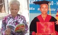 Bà bán chuối 55 tuổi nhận bằng cử nhân Luật
