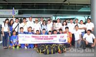 Đội bóng trẻ em có hoàn cảnh đặc biệt lên đường du đấu Thái Lan