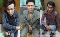 Băng trộm chưa đầy một tuần gây ra 7 vụ khắp Sài Gòn