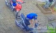 Tên trộm đập đầu vào tường gây áp lực với công an