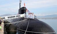 Lễ thượng cờ cho hai tàu ngầm Hải Phòng và Khánh Hòa