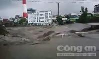 Clip lũ tràn đập tràn nhà máy nhiệt điện Uông Bí