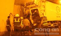 Tai nạn trong hầm đường bộ Hải Vân, hai người thương vong