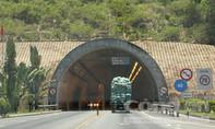 Hầm đường bộ Hải Vân đã thông xe trở lại