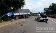 Tai nạn giao thông nghiêm trọng, 2 sĩ quan CSGT tử vong