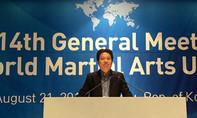 Tiến sĩ Võ Danh Hải tái đắc cử  Phó Chủ tịch Hiệp hội Võ thuật thế giới (WoMAU)