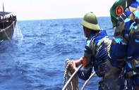Đẩy đuổi 5 tàu Trung Quốc xâm phạm vùng biển Việt Nam