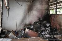 Phá két sắt trộm bất thành, làm cháy rụi phòng kế toán