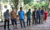 Huy động hơn 30 cảnh sát triệt phá ổ bạc giữa lòng thành phố Vinh