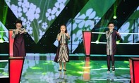 """""""Bản sao"""" Thùy Chi gây ấn tượng tại The Voice Kids"""