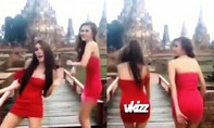 Nhảy sexy tại chùa cổ, hai kiều nữ bị khởi tố