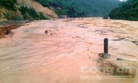 Thanh Hóa: Nước lũ cô lập một huyện vùng cao biên giới