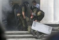 Thủ đô Ukraine chìm trong bạo động đẫm máu
