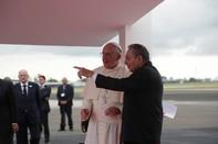 Cuba long trọng đón tiếp Giáo hoàng Francis