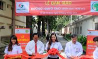 Vinasun bàn giao con đường Hàng Sao cho bệnh viện Nhi Đồng 2