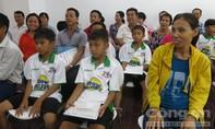 Học viện bóng đá NutiFood khai giảng khóa đầu tiên