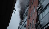 Cháy lớn ở công ty xuất nhập khẩu Hàng không
